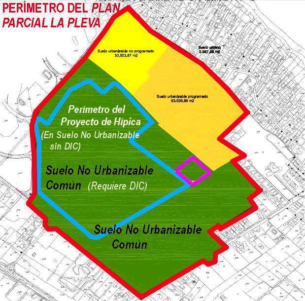 Oliva nova la devesa for Suelo no urbanizable